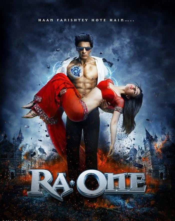 Ra.One: SRK's six-pack abs show