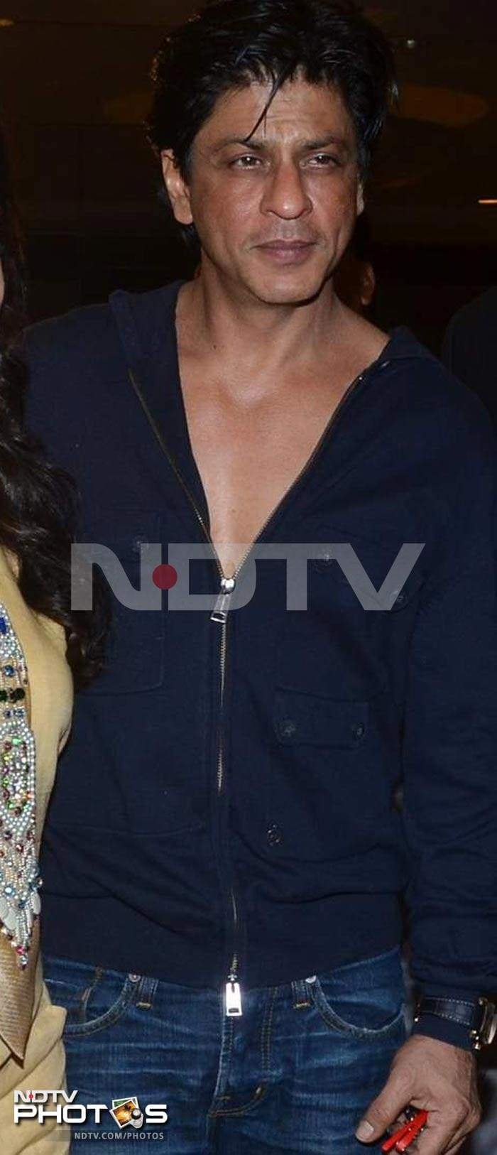 SRK's musical night out