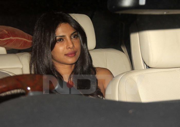 Priyanka, Shahid at SRK's Holi Party
