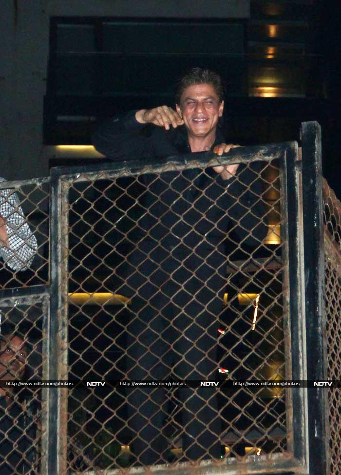Shah Rukh Khans King-Size Birthday Party