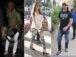 Photo : Airport Swag: Rajinikanth, Sridevi, Sushant