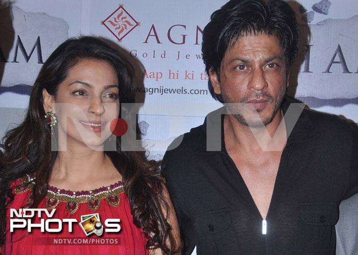 SRK is Juhi's VIP guest at I AM party
