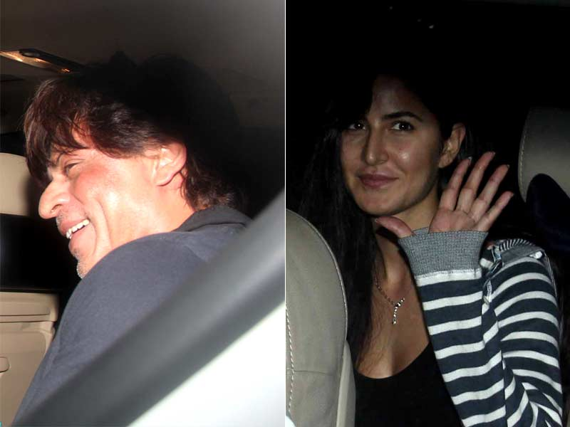 Shah Rukh Khan, Katrina Kaif Go Cool and Casual