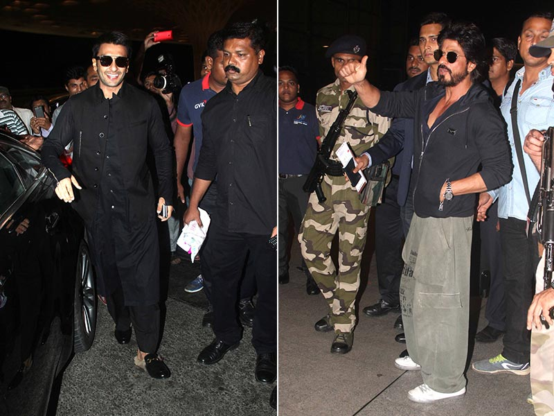 SRK, Ranveer and Fan Fever at the Mumbai Airport