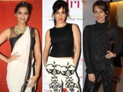 Photo : Fashion bravehearts: Sonam, Anusha, Neha