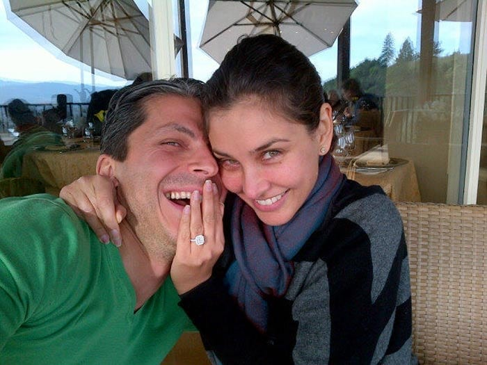 Lisa Ray is engaged