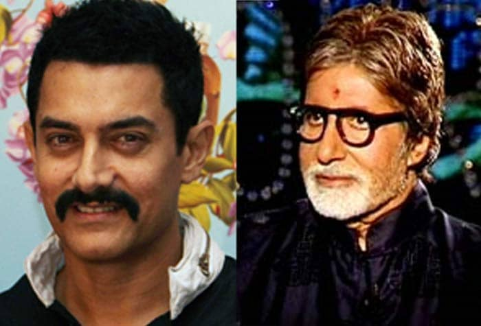 Big B takes on Aamir