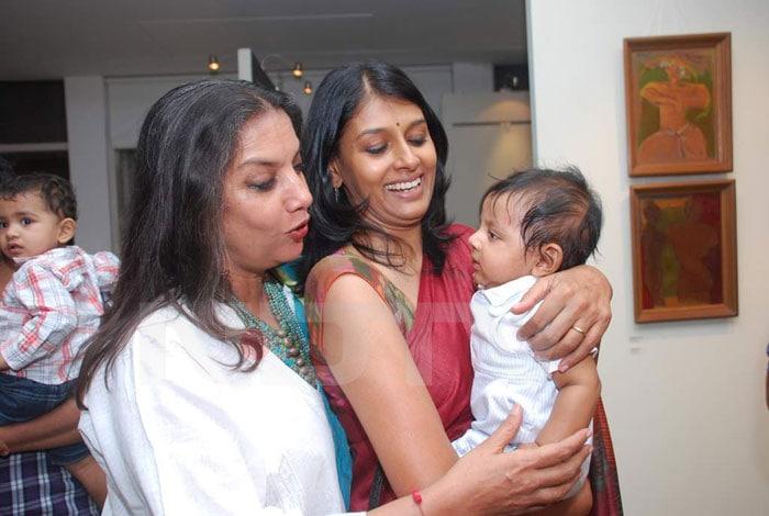 Nandita Das shows off her son