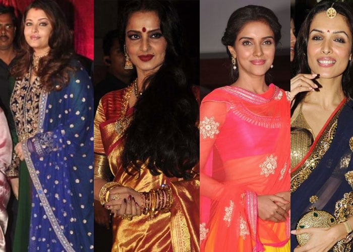 Bollywood's wedding fashion