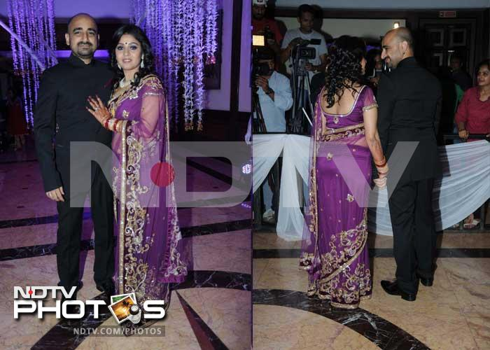 Big stars at Sunidhi Chauhan's wedding reception