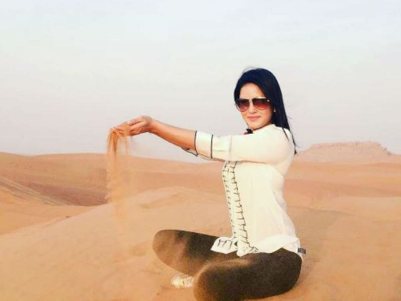 In Dubai With Sunny Leone: Here's Her Holiday Album
