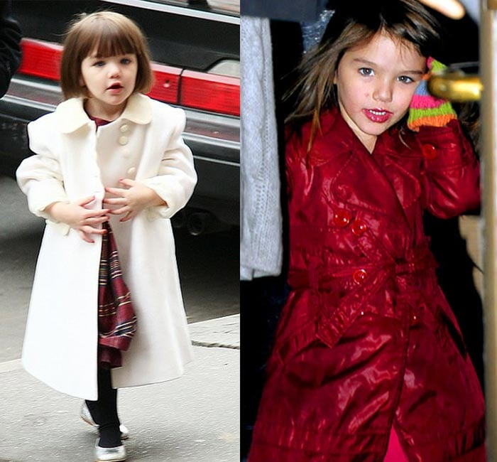 Suri Cruise named 'World's Most Stylish Child'