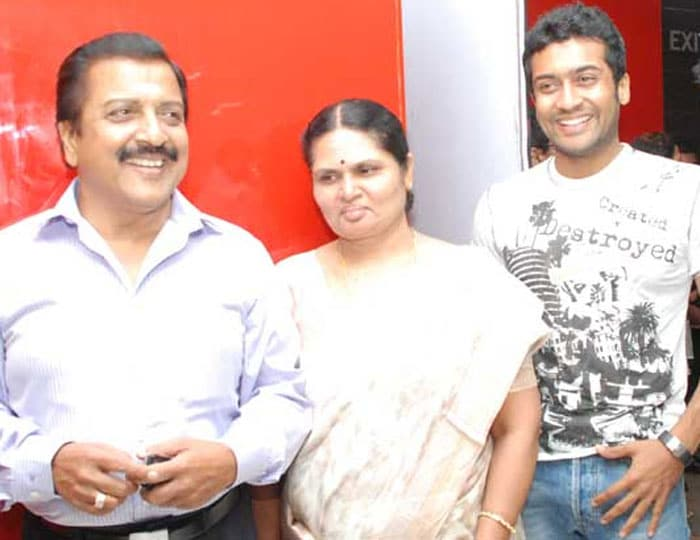 Actor Surya Family Photos Family Photos Actor Surya