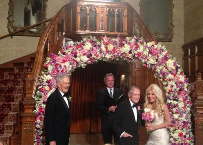 86-year-old Hugh Hefner's new 26-year-old bride