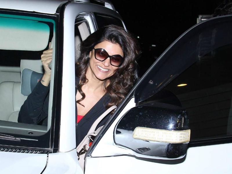 The Cameras Are In Love With Sushmita Sen's Million Dollar Smile