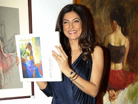 Sushmita Sen, Dia Mirza's Artful Day Out