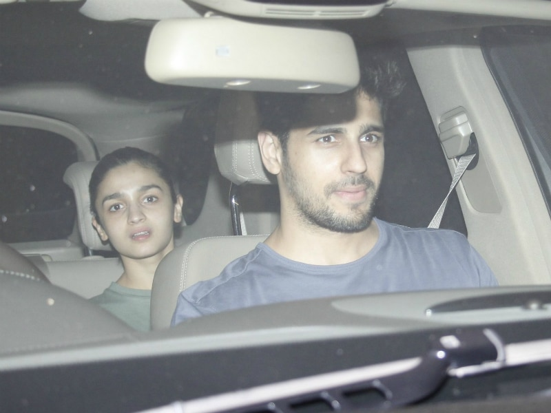 Alia Bhatt Spotted With Sidharth Malhotra. Again