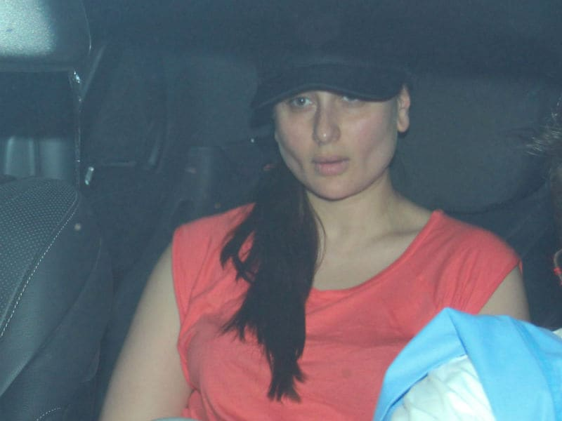 Kareena Kapoor's Day Out With Son Taimur