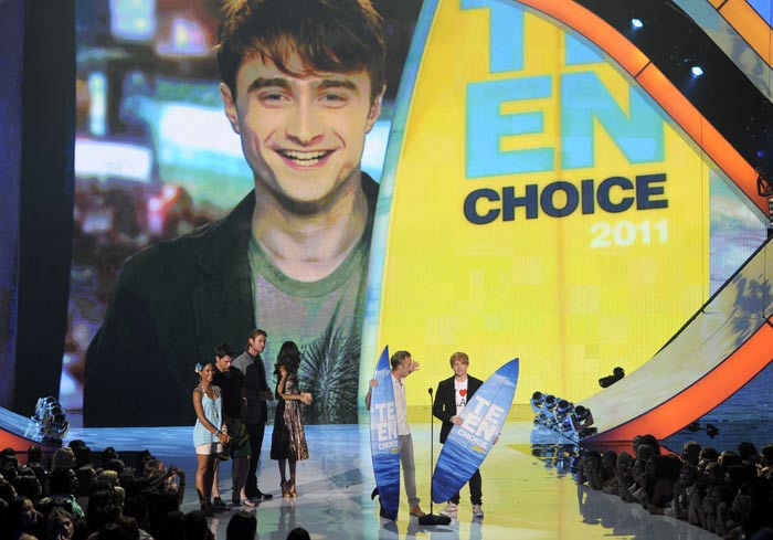 Teen Choice Awards 2011: HP pips Twilight