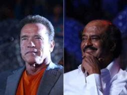 Photo : When the Terminator Met Thalaivar