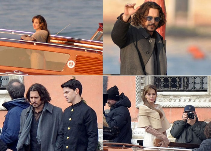 On location: Jolie, Depp starrer The Tourist