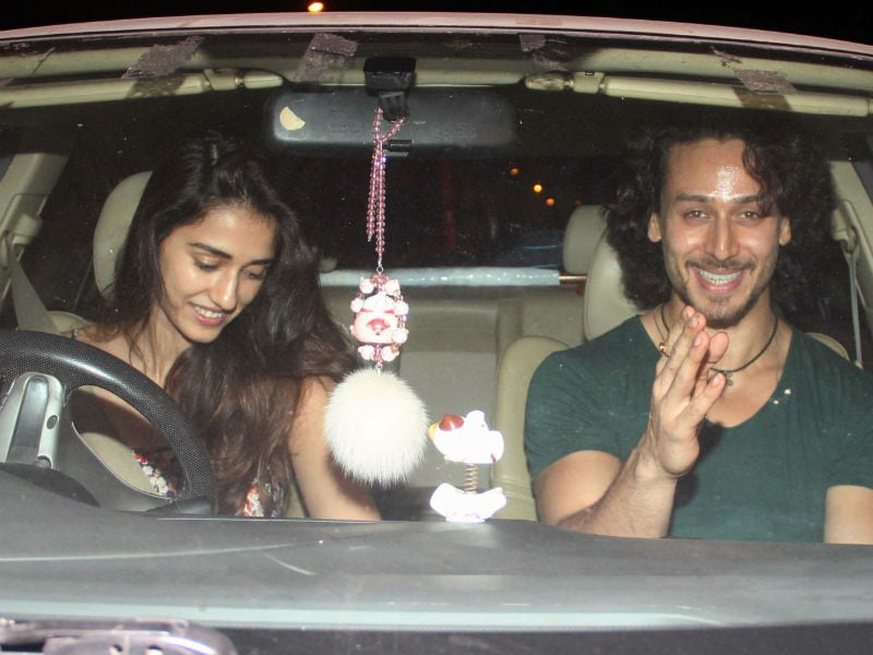 Couples' Night Out For Tiger-Disha, Riteish-Genelia
