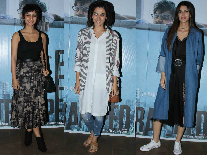 Patralekhaa, Taapsee Or Kriti, Who's 'Trapped' Your Heart?