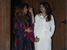 Twinkle Khanna's Dinner Time With Dimple