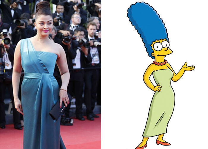 Did Marge Simpson inspire Ash's Cannes look?