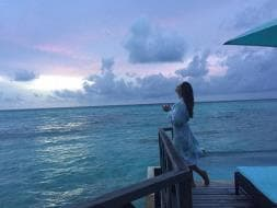 Photo : Bipasha, Karan's Vacation 2.0. This Time in Maldives