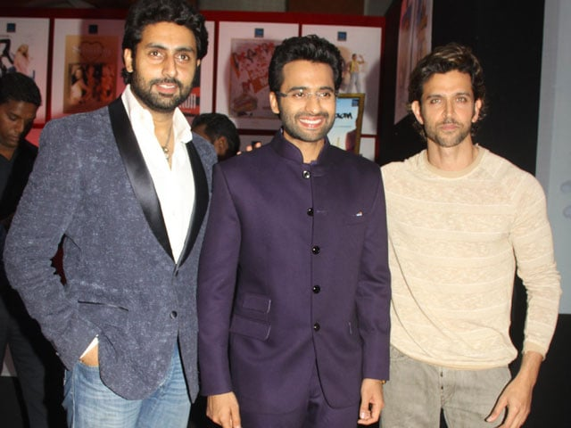 Starshine at Vashu Bhagnani's Party: Hrithik, Abhishek, Jackky