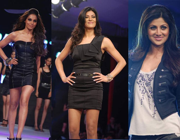 Sushmita, Shilpa at Vero Moda fashion show
