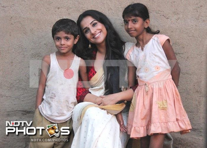 Sneak peek: Vidya's new photoshoot in Kolkata