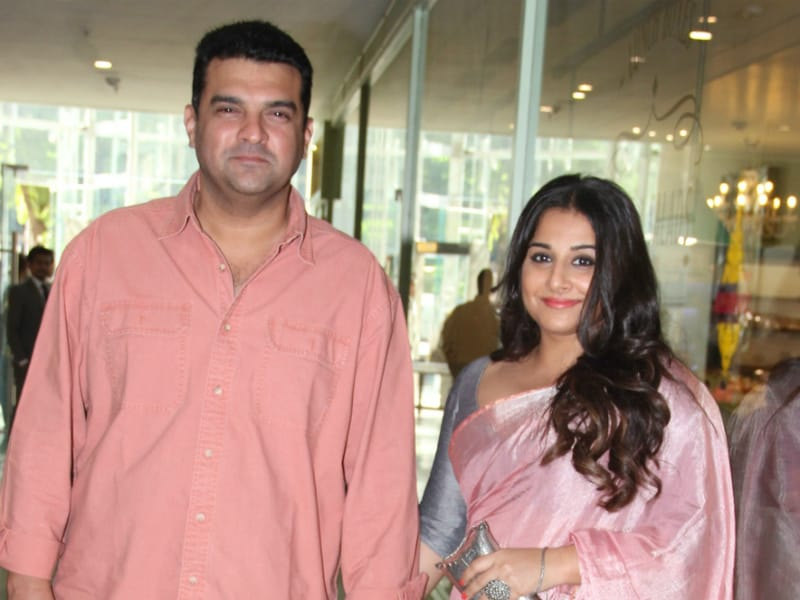 Vidya And Siddharth Spotted Hand-In-Hand At Neerja's Success Party