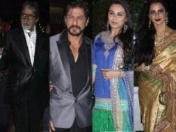 Photo : Big B, SRK, Rani: counting stars at Bhatt wedding
