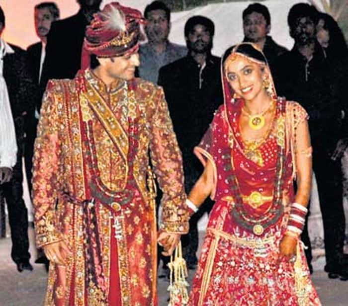 Vivek Oberoi and Priyanka Alva wedding pictures
