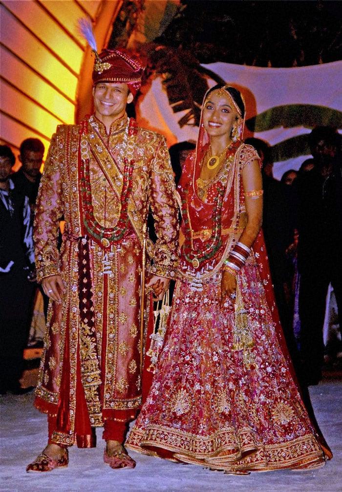Vivek Oberoi and Priyanka Alva marriage photos: