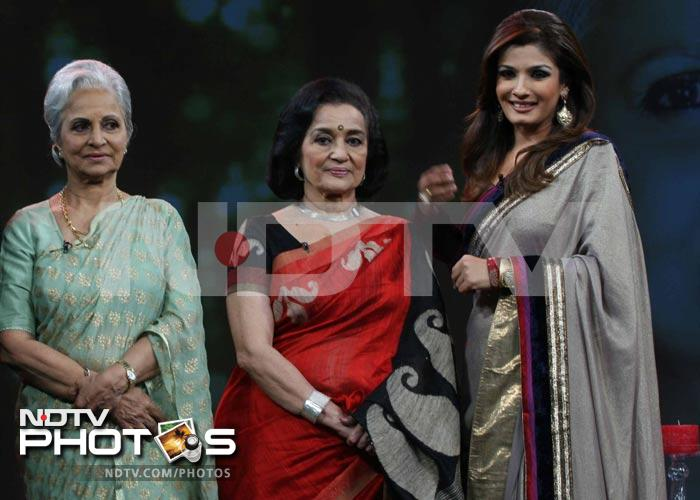 Waheeda Rehman, stunning at 76