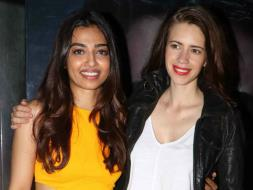 Photo : Girls Like to Swing: Kalki and Radhika Are so Chic