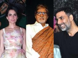 Photo : Maximum City, Maximum Celebs: Kangana, Big B, Akshay