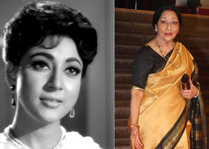 Rare sighting: Mala Sinha