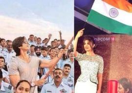 Photo : Just Like a Waving Flag: Priyanka, Shahid