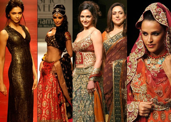 Stars spell glamour on the ramp