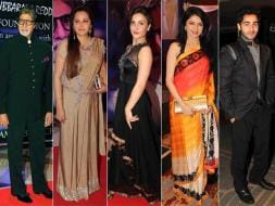 Photo : Bollywood Glitters at the Yash Chopra Memorial Award Ceremony