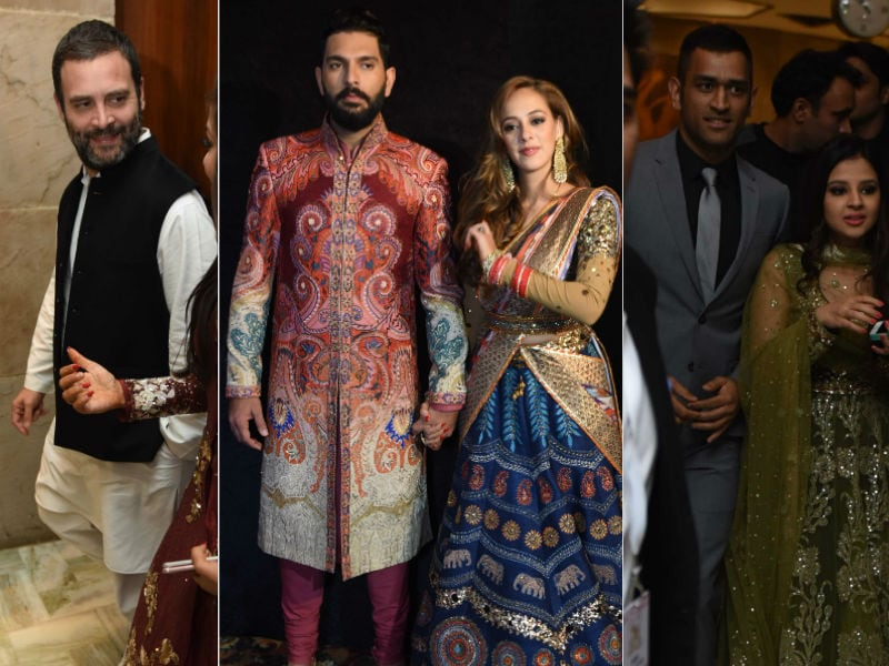 Yuvraj Singh And Hazel Keech Reception: Rahul Gandhi, Dhoni, Kapil Dev On The Guests List