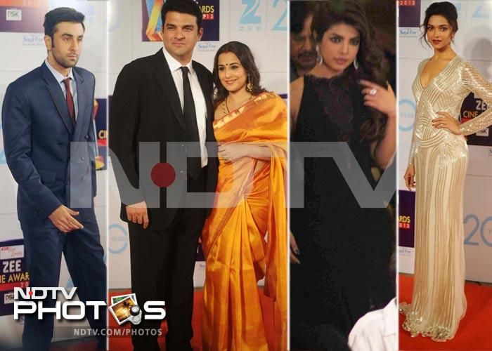 Big stars at Zee Cine Awards 2013