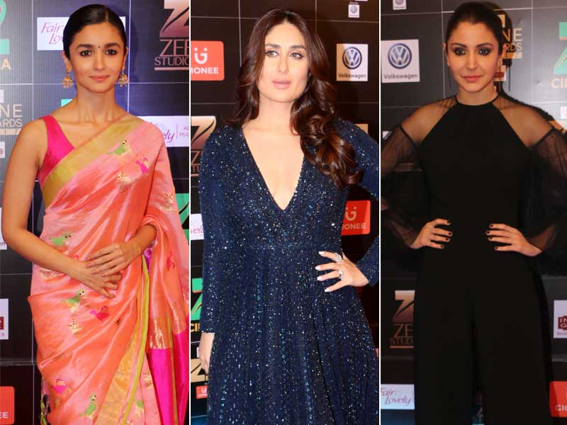Zee Cine Awards 2017: Alia, Kareena, Anushka Dazzle On The Red Carpet