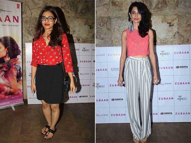 Tuesday at the Theatre: Radhika, Sarah, Tannishtha