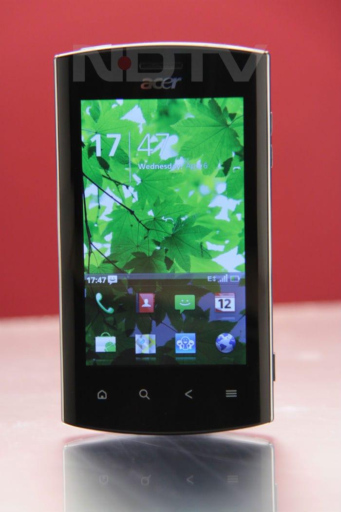 Acer Liquid Metal (pictures)