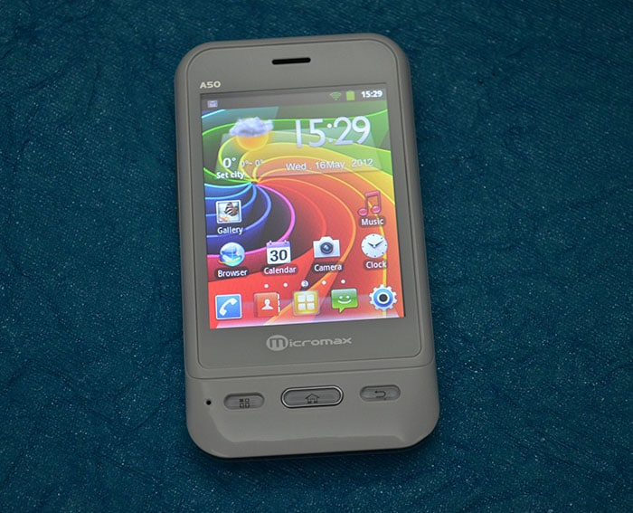 Micromax A50 Superfone Ninja with AISHA – Hands on